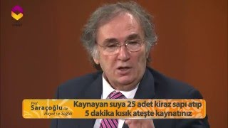 Prof. İbrahim Saraçoğlu'ndan Sağlıklı zayıflama ve ödem atıcı kür