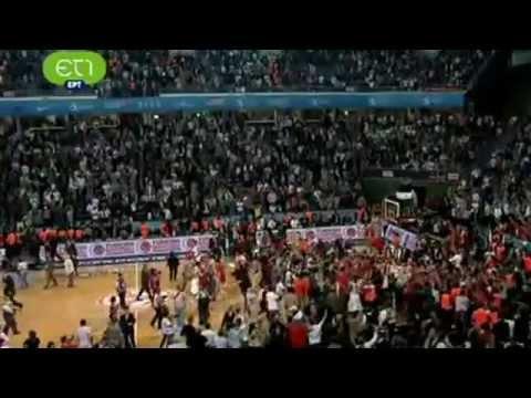 CSKA-OLYMPIAKOS 61-62 Τα τελευταία λεπτά! Euroleague Final 2012