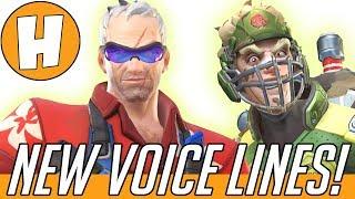 Overwatch - NEW Skin-Specific Voice Lines! (Summer Games - Soldier 76, Junkrat, Sombra!)   Hammeh
