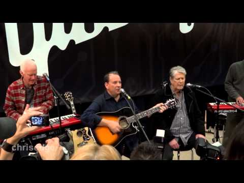 HD - Brian Wilson (The Beach Boys) Live! - God Only Knows &amp; Surfin&#039; USA @ NAMM 2013-01-24 Anaheim
