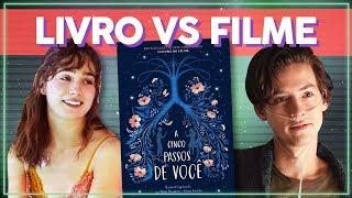 FINAL DIFERENTE? O QUE ACONTECE NO LIVRO? A CINCO PASSOS DE VOCÊ LIVRO X FILME! | Alice Aquino