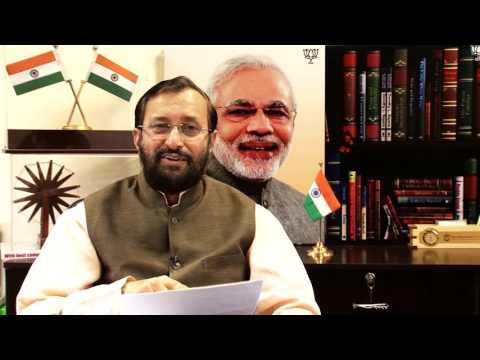 Shri. Prakash Javadekar ji, Union Minister of HRD on Finolex Pipes