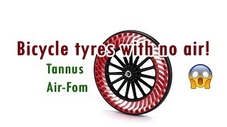 Can you run your bike tyre with no air? Two products say yes you can!