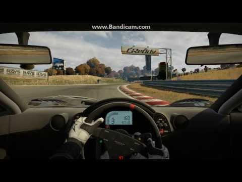 NFS Shift 2 Unleashed McLaren F1 Autopolis International Racing Course GP fast lap
