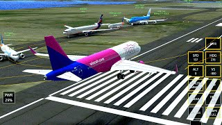 Infinite Flight Airbus A320 ! NEW UPDATE ! Using APPR . KLAX-KNUC. HIGH WIND.