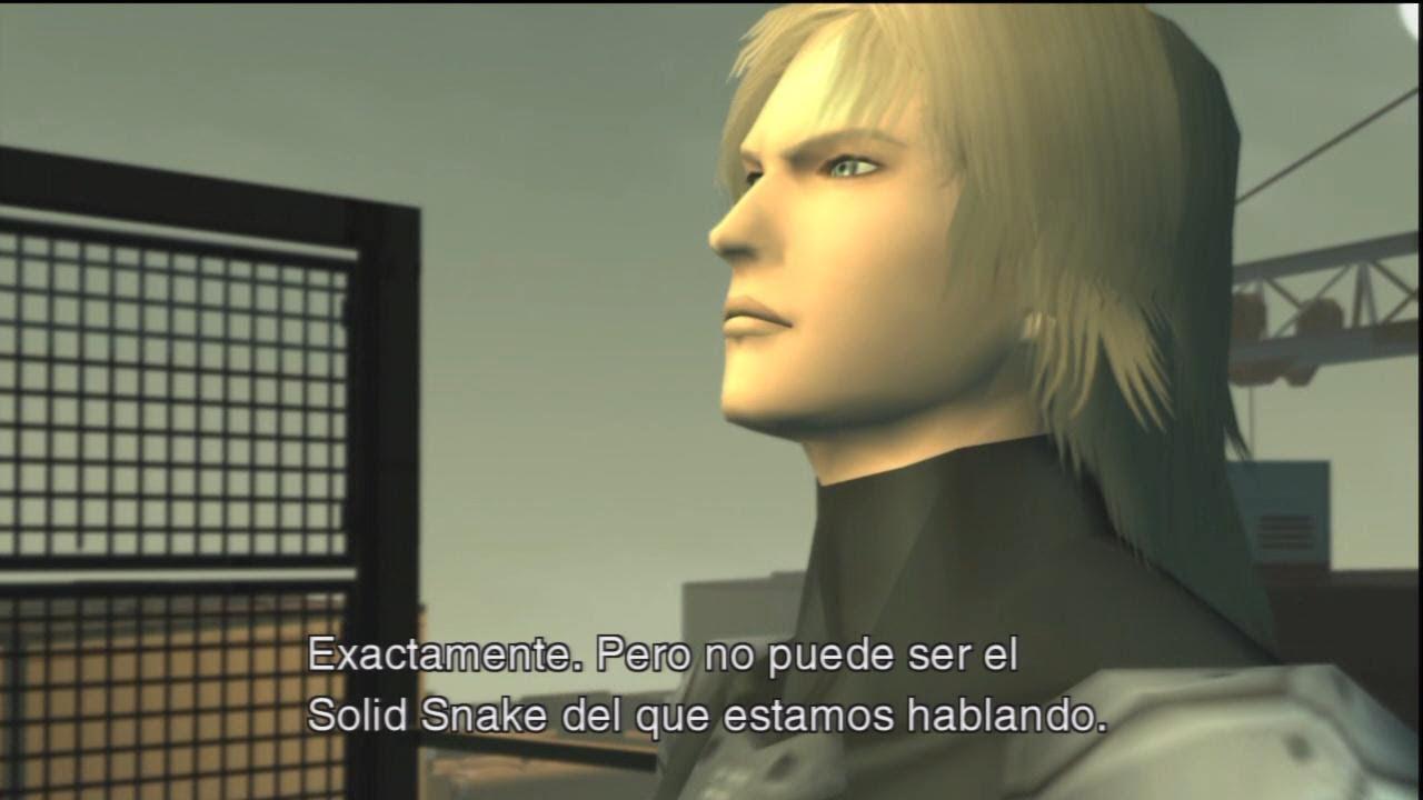 Raiden Mgs2 Hd Metal Gear Solid 2 Sons of