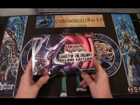 Yugioh Legacy of the Valiant Deluxe Edition Opening