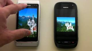 Nokia 701 vs Nokia N8 Display comparison.mp4