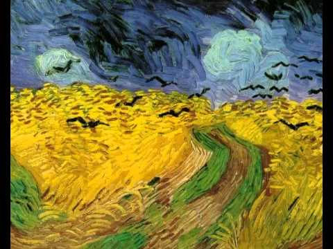Wheat Fields Van Gogh Series