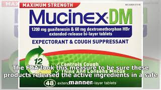 Mucinex DM (Dextromethorphan & Guaifenesin) - Side Effects, Dosage, Interactions - Drugs