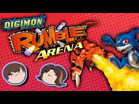Digimon Rumble Arena - Grumpcade video