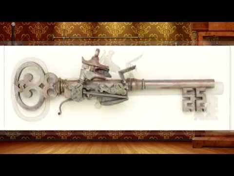Even weirder than keyblades: Key guns!