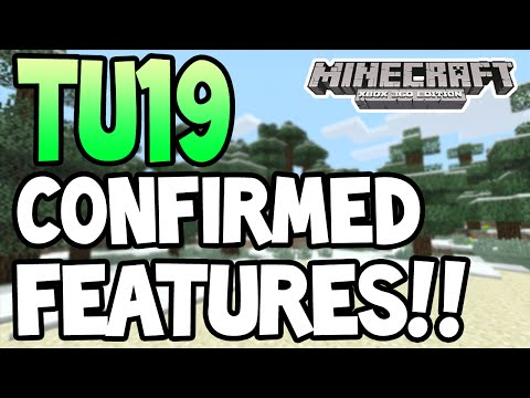 Minecraft Xbox360 PS3 TU19 UPDATE ALL CONFIRMED FEATURES HORSESBEACONS + MORE