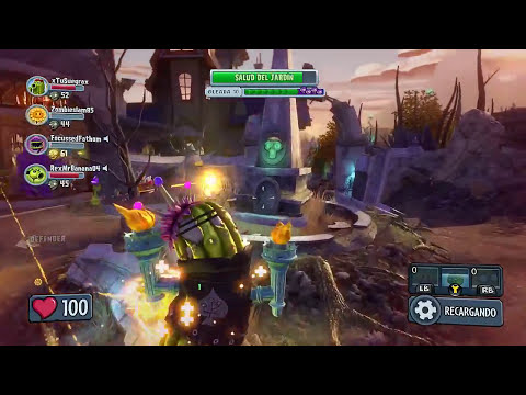 Plants Vs Zombies - Garden Warfare / Operaciones de Jardín 5/ Gameplay Español( Xbox One Gameplay)