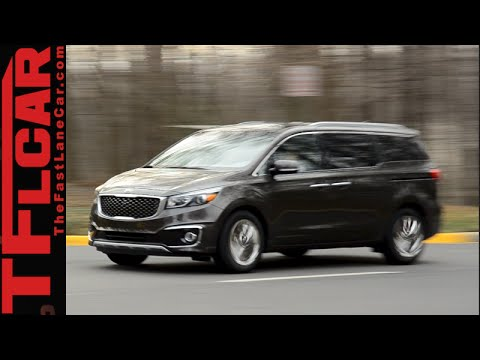 2015 KIA Sedona Review: The Unminivan for those who need but don't want a Minivan