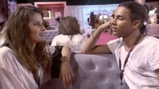 Victoria's Secret: Olivier Rousteing meets Isabeli Fontana