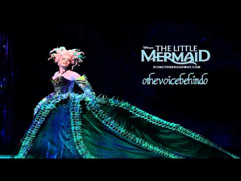 【Me Singing】 ♪Poor unfortunate soul (Reprise) ♪ [The little mermaid on Broadway]