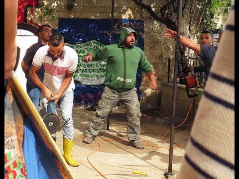 Violent Extremist attack Church 'again' Jerusalem