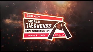 [Highlights] 2016 WTF WORLD TAEKWONDO JUNIOR CHAMPIONSHIPS