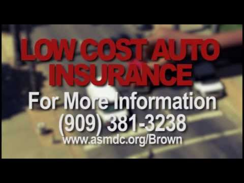 Assemblymember Brown Talks About Low Cost Auto Insurance