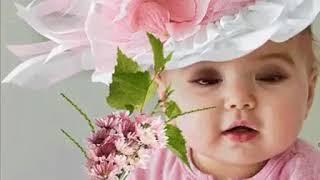 Baby good morning video