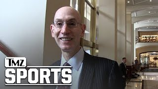 Adam Silver Says NBA Won't Intervene In Players Skipping Trump Visit | TMZ Sports