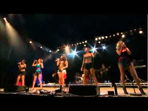 The Saturdays - Forever Is Over (v Festival - 21st August 2011) video