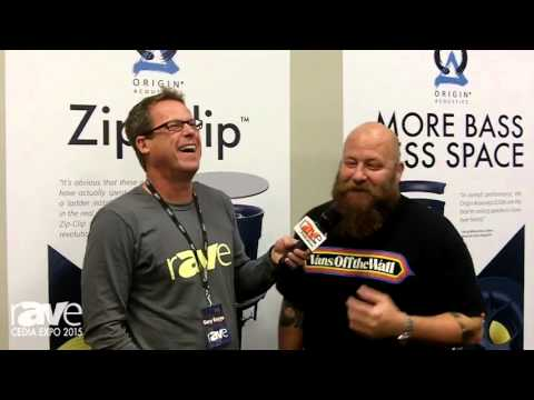 CEDIA 2015: Gary Kayye Interviews Jeremy Burkhardt of Origin Acoustics at CEDIA Expo 2015