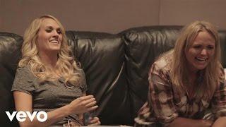 Miranda Lambert Somethin 39 Bad Duet With Carrie Underwood Studio Behind The Scenes