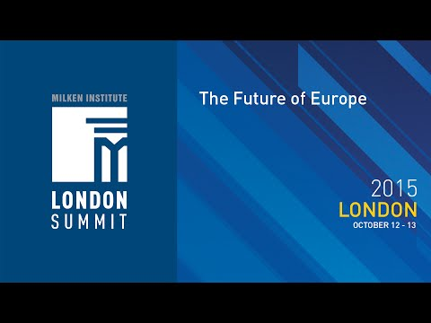 London Summit 2015 - The Future of Europe (I)