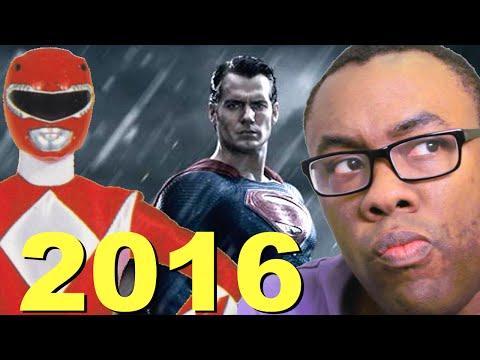 POWER RANGERS MOVIE & BATMAN v. SUPERMAN Release Dates : Black Nerd