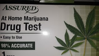 ASSURED AT HOME MARIJAUANA DRUG TEST  RESULTS IN 5 MINUTES