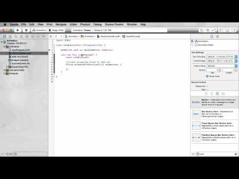 iOS Development with Swift Tutorial - 27 - Core Animation
