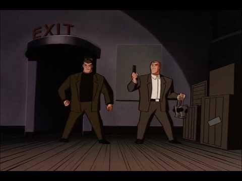 Batman, batgirl,and Robin vs. Two face