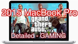 2015 MacBook Pro - GTA 5 - Detailed Indepth GAMING TEST