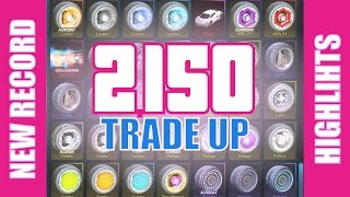 [Highlights] WORLD RECORD - 2,150 Item Trade Up (Crimson Voltaic + 33 Painted Items)
