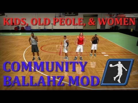 Mod Review - Community Ballahz for NBA 2K13 PC