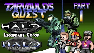Halo: Combat Evolved & Anniversary - Part 1 - Legendary Co-op - Tarvould's Quest