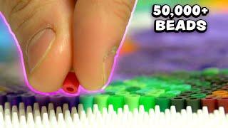"""Bead """"Pixel Art"""" Challenge - The Worst-Best Fun I've Ever Had!"""