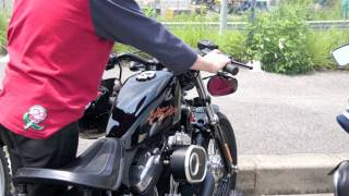 modified Harley 48 sound