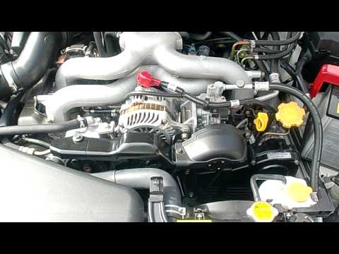 (セル音)SUBARU  LEGACY  BP5  2.0 Engine Start!DOHC