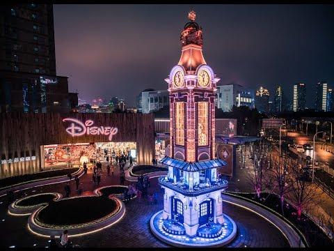 La Clock Tower se dévoile à Shanghai Disney Store Plaza