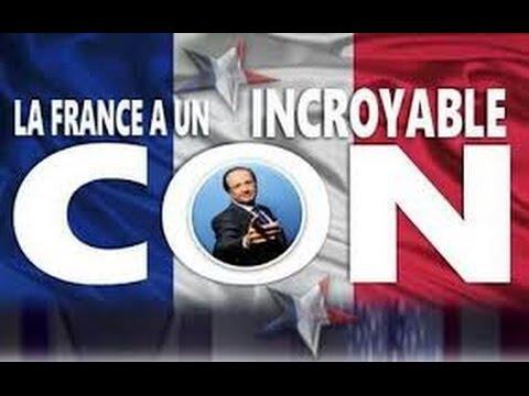 Vidéo d'images de parodie de François Hollande !