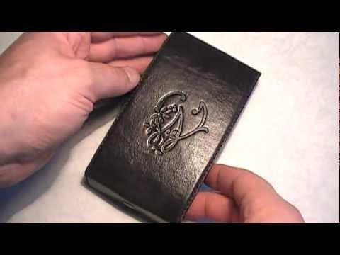 Чехол кожаный своими руками