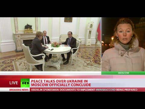Putin, Hollande, Merkel talks on Ukraine 'constructive', possible document 'in progress'