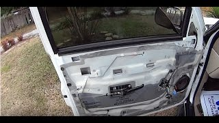 How to install replace power window regulator 2007 2013 for 2000 silverado window motor