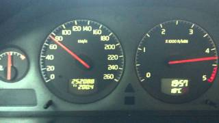 Volvo S60 2.4 D5 - Acceleration 0-100 km/h