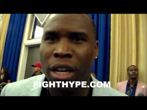 ADONIS STEVENSON DISCUSSES SIGNING WITH AL HAYMON AND KOVALEV FIGHT:  IF THE MONEY IS RIGHT