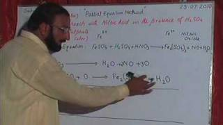 PARTIAL EQUATION METHOD FOR BALANCING CHEMICAL EQUATION part 5