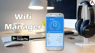 Wifi Manager, Wifi Analyzer, Wifi Speed Test, Detect wifi Spy and Boost wifi Speed